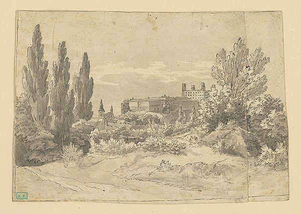 Karol Marko st. - Pohľad na bratislavský hrad