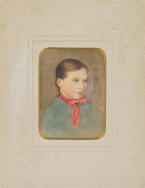 Ladislav Mednyánszky - Portrét dievčaťa