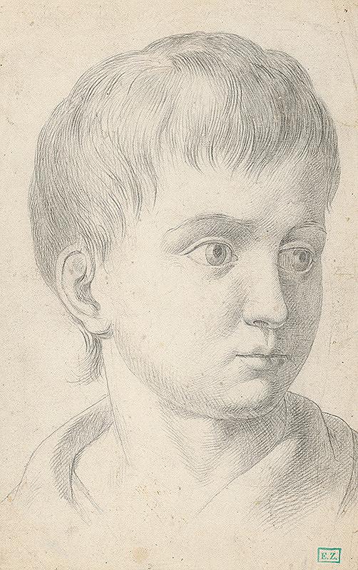 Vojtech Klimkovič – Portrét chlapca