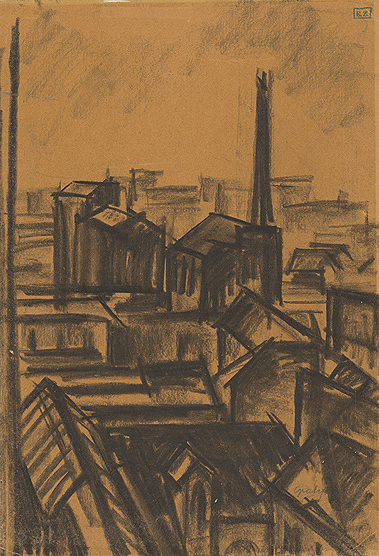 Armand Schönberger - Pohľad na mesto