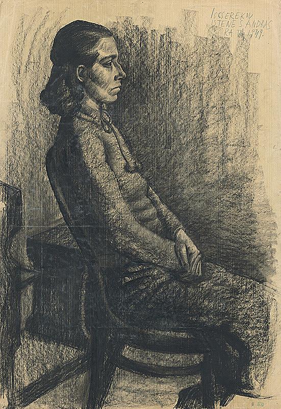 Istenes András Iscserekov - Portrét ženy
