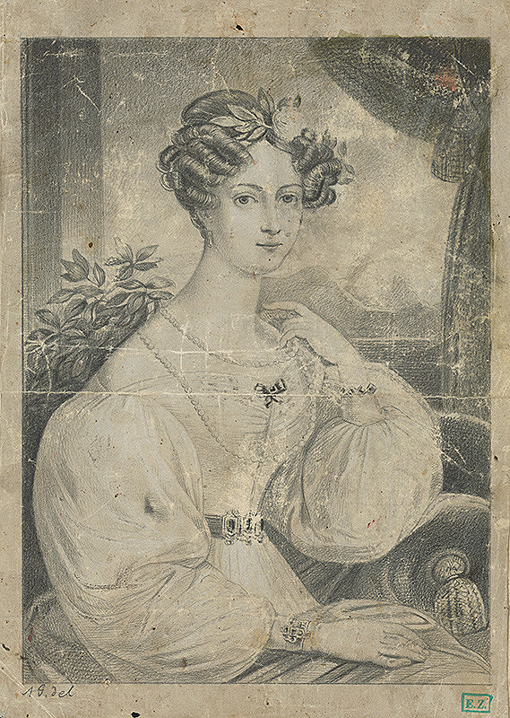 Monogramista A. G. - Portrét ženy