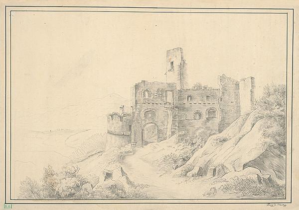 Franz Hauer – Zrúcanina hradu