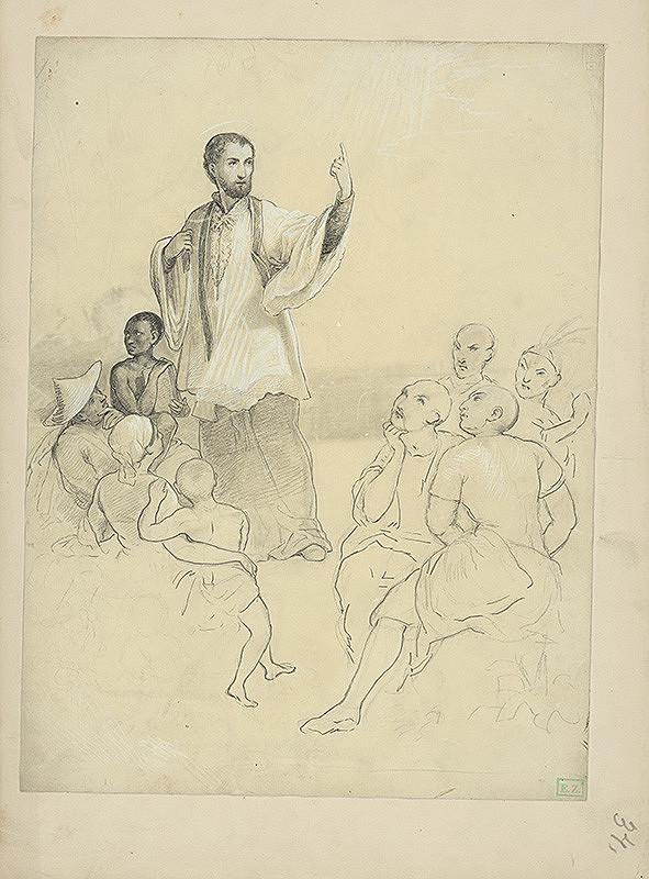 Vojtech Klimkovič – Kázanie Svätého Františka Xaverského