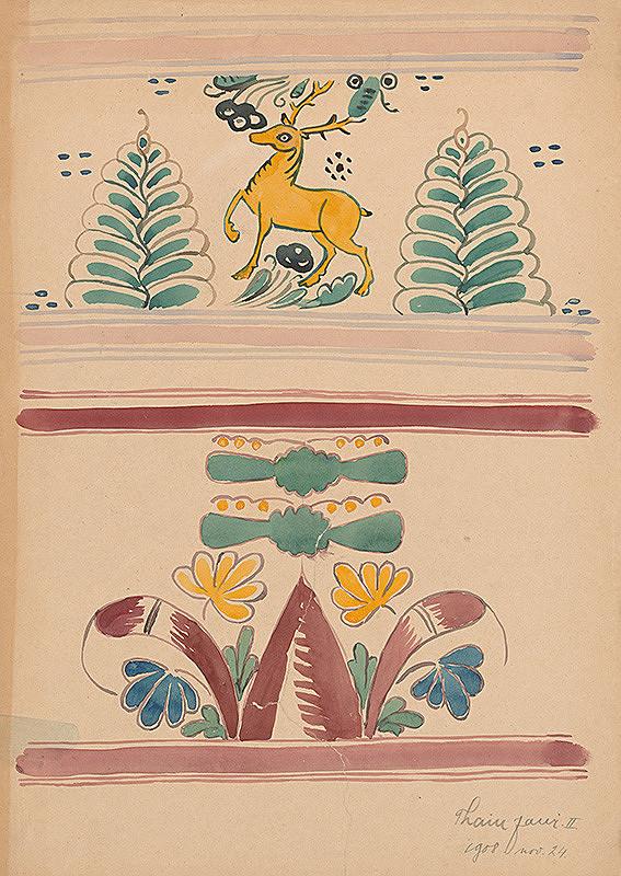 Ján Thain – Štúdia ornamentov II.