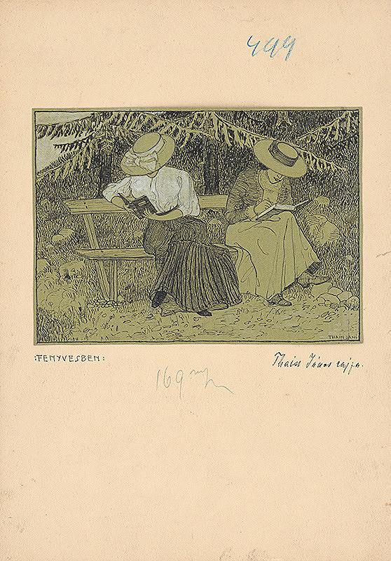 Ján Thain - V lese
