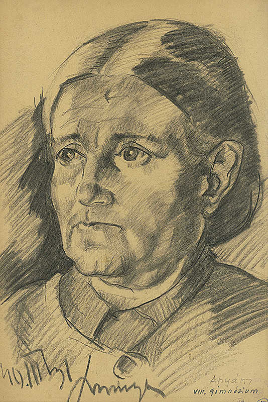 Lajos Luzsicza - Portrét matky