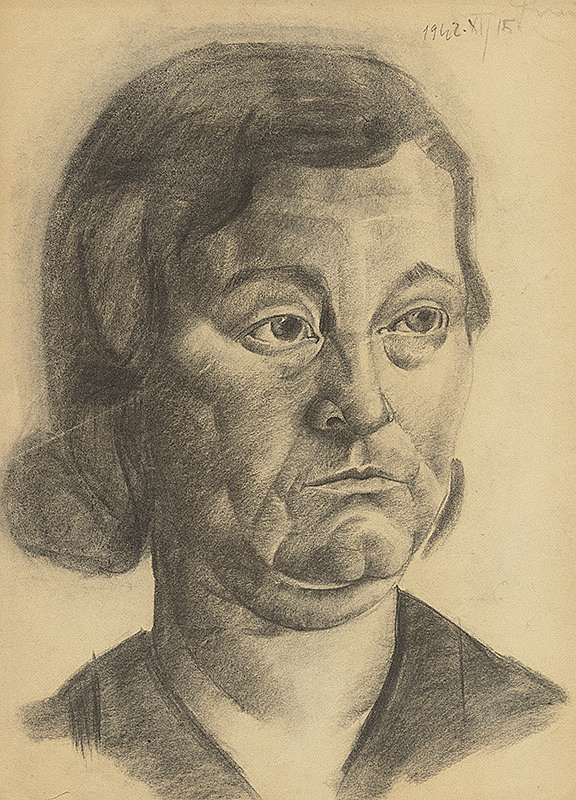 Lajos Luzsicza - Portrét ženy