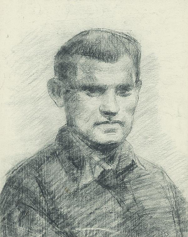 Lajos Luzsicza - Portrét mladého muža