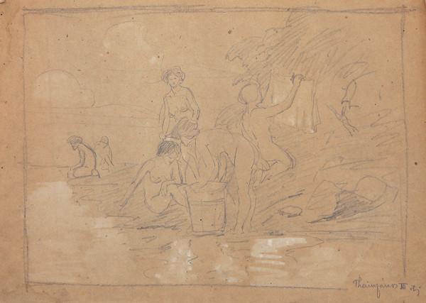 Ján Thain – Ženy pri rieke