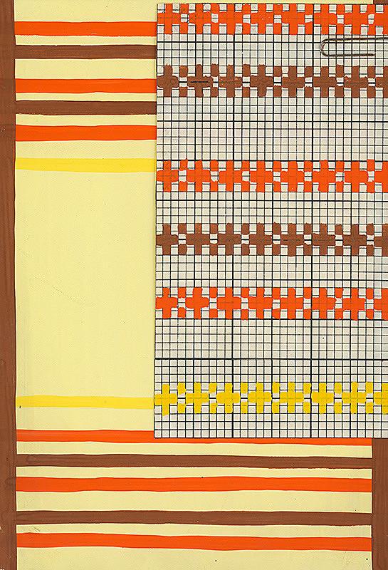 Viola Thainová - Návrh na tkaninu