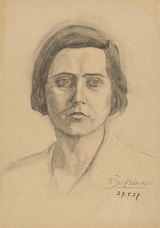 Fraňo Štefunko – Portrét mladej ženy