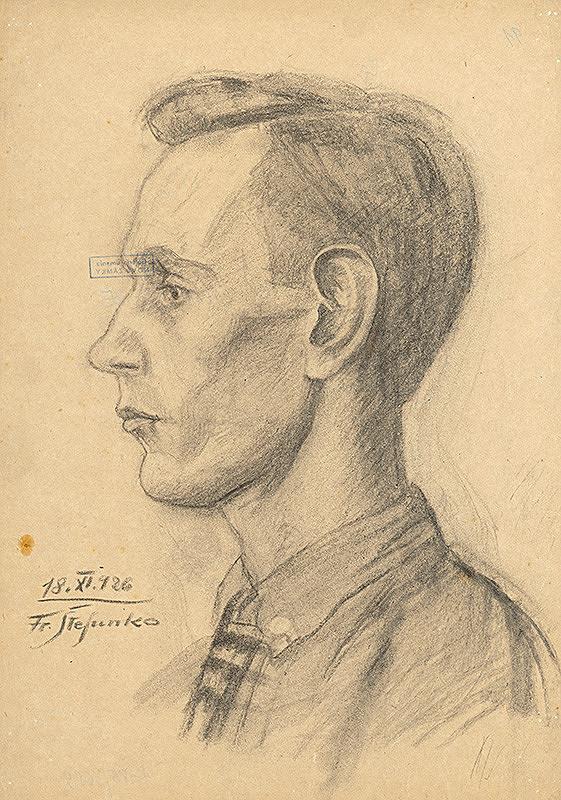 Fraňo Štefunko - Portrét chlapca