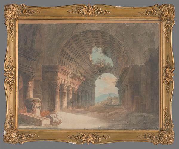 Adalbert Winter - Antické ruiny