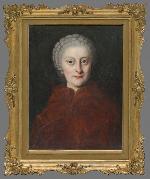 Viedenský maliar - Portrét grófky Henriety Erdödyovej (1731 - 1778)