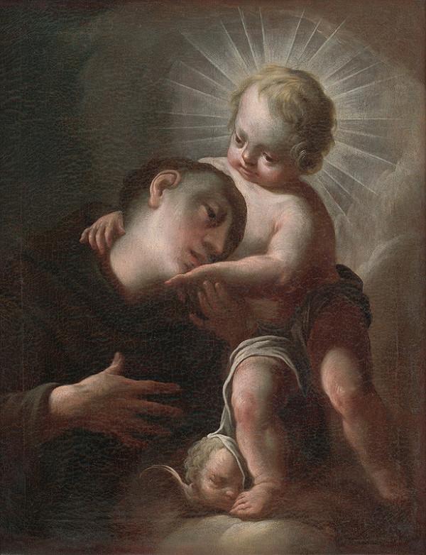 Paul Troger - Svätý Antonín Paduanský s Ježiškom
