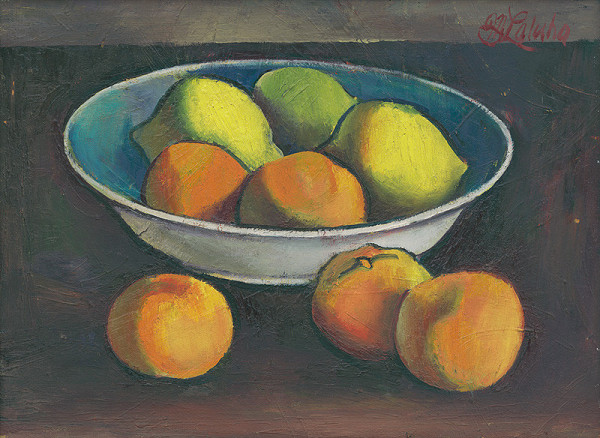 Milan Laluha - Ovocie s miskou