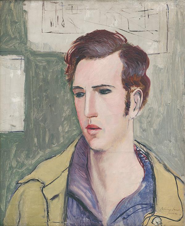 Albert Bertalan - Autoportrét