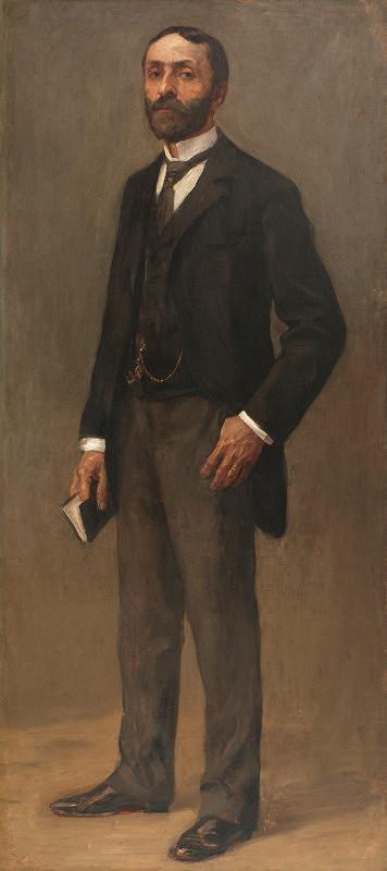 Maďarský maliar – Portrét stojaceho muža