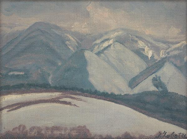 Ivan Žabota – Zasnežené hory