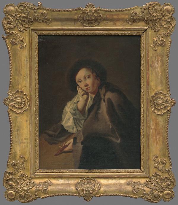 Giovanni Battista Piazzetta - Chlapec v klobúčiku s nožíkom