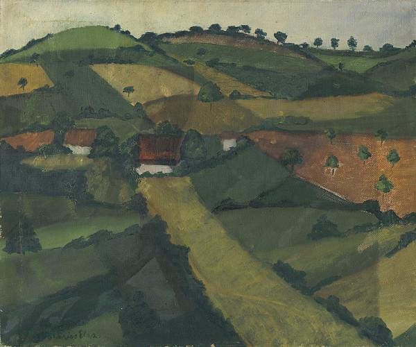 Maďarský maliar z 1. polovice 20. storočia – Krajina