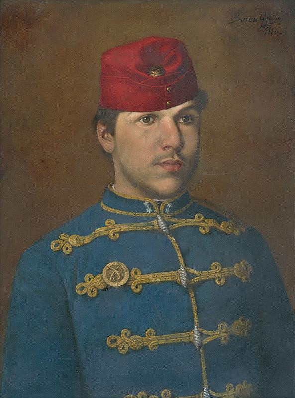 Gyula Boross – Portrét vojaka