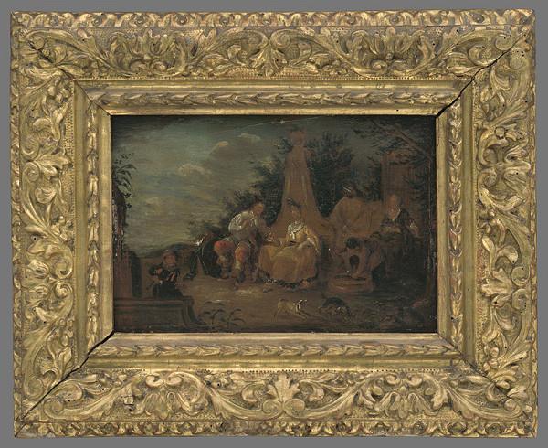 Johann Paul Pferg – Galantná scéna