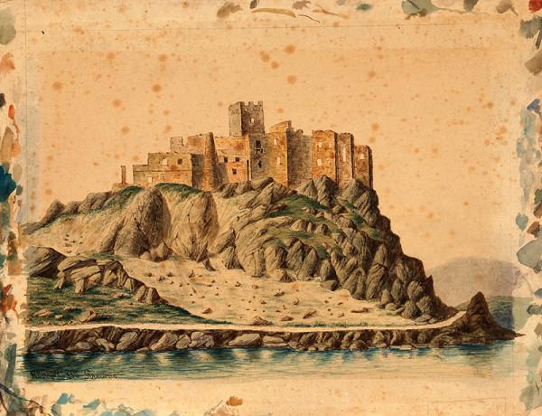 Jozef Könyöki – Zrúcaniny hradu v Strečne