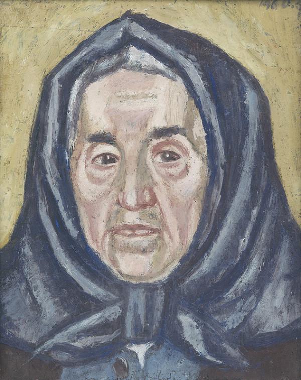 Ernest Zmeták - Portrét ženy