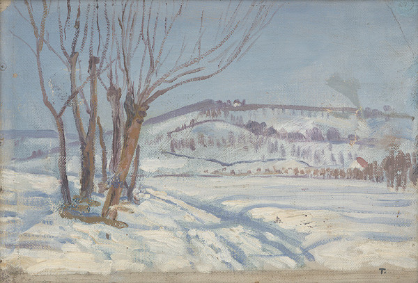 Ján Thain - Zimná krajina