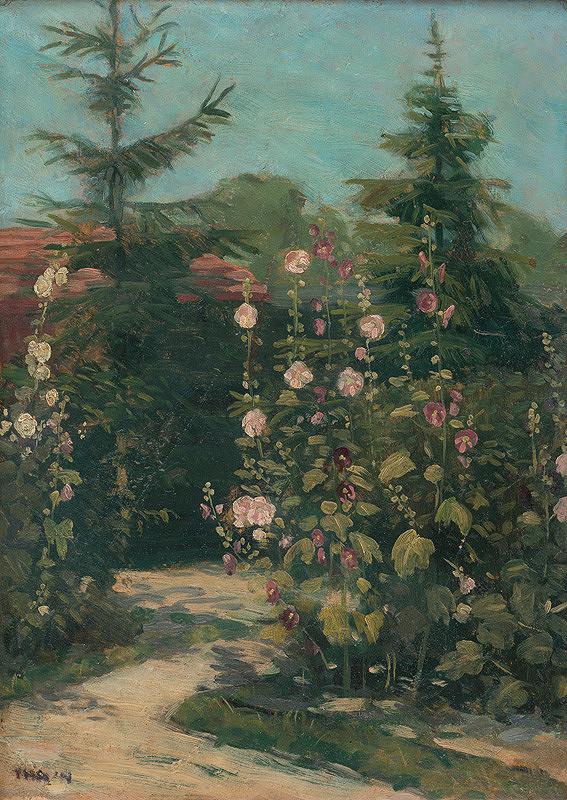 Ján Thain - Umelcova záhrada