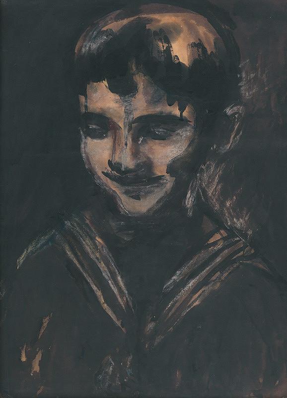 Ján Mudroch - Portrét chlapca