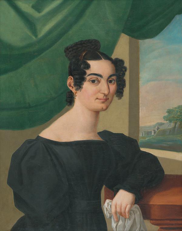 Prešovský maliar - Dáma z rodiny Stankay?