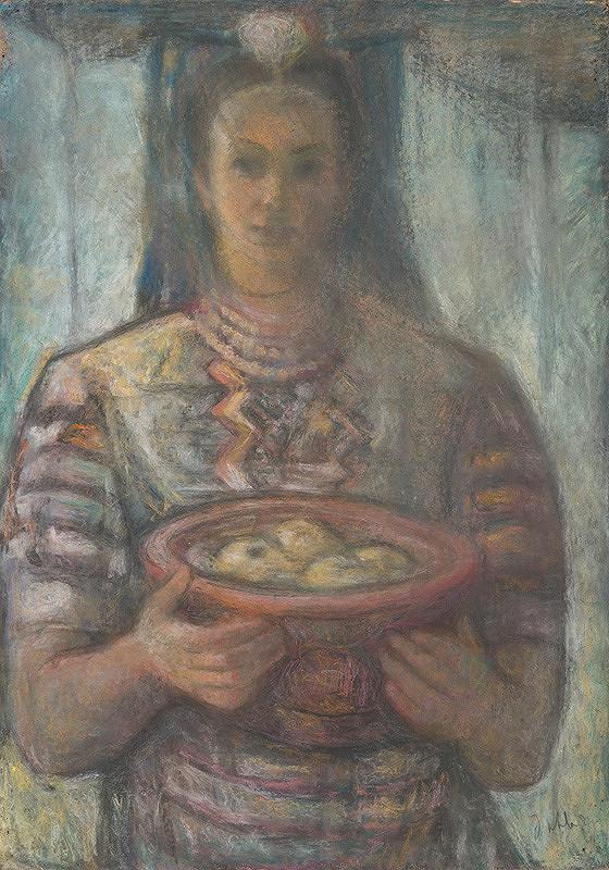 Janko Alexy – Dievča v kroji