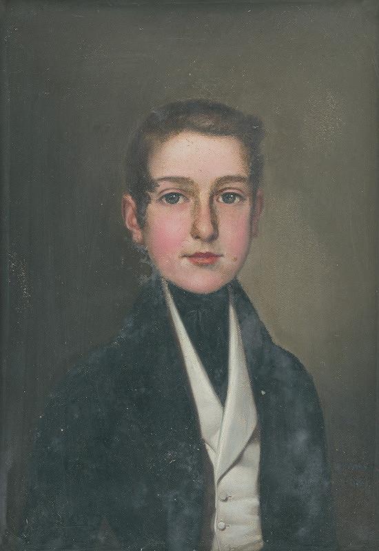 Gustáv Müller - Portrét chlapca