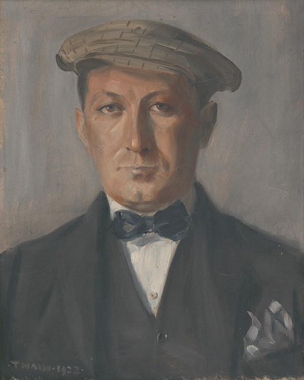 Ján Thain - Portrét Kukána