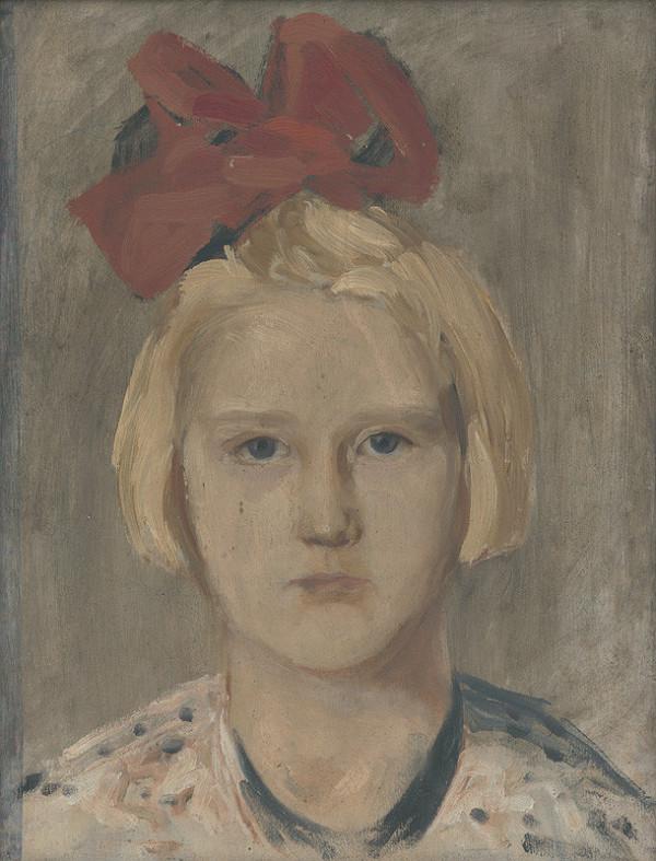 Ján Thain - Portrét dievčaťa