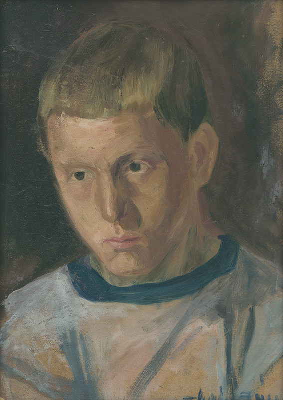 Ján Thain - Portrét chlapca
