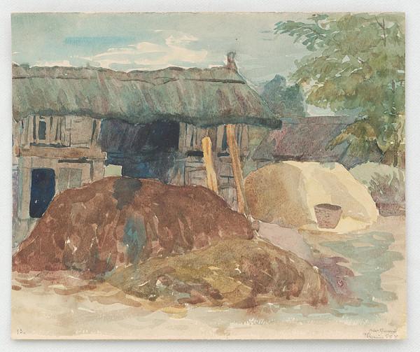 Ján Thain – Chlievy v Kisoroszi