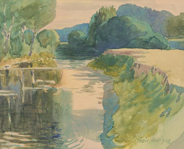 Ján Thain - Krajina s riekou