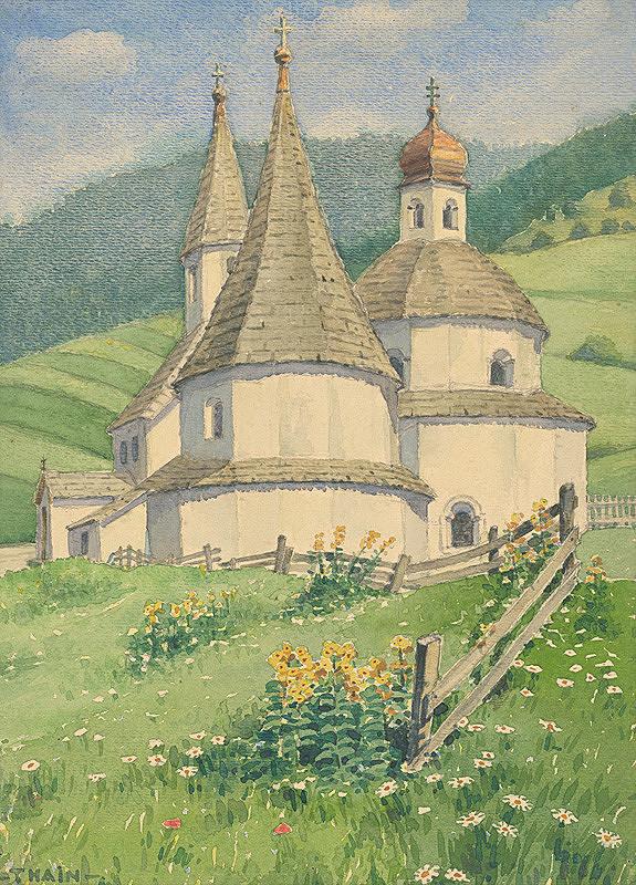 Ján Thain - Grabkapelle v Inninchene