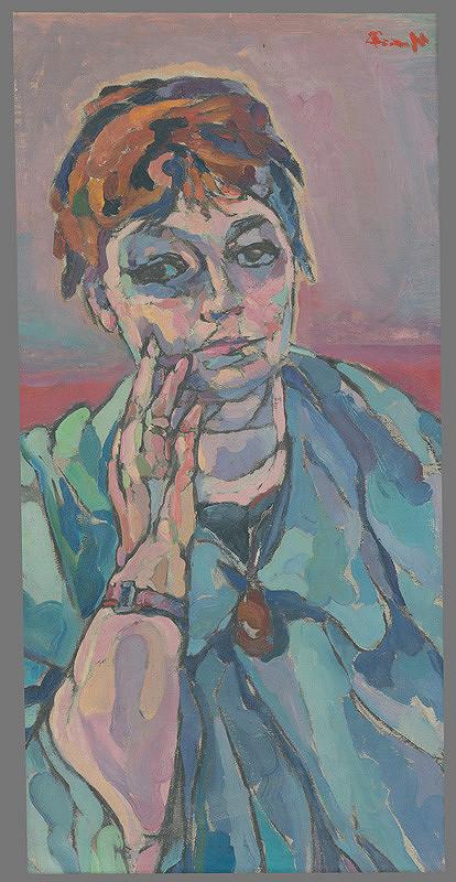 Lea Mrázová - Autoportrét
