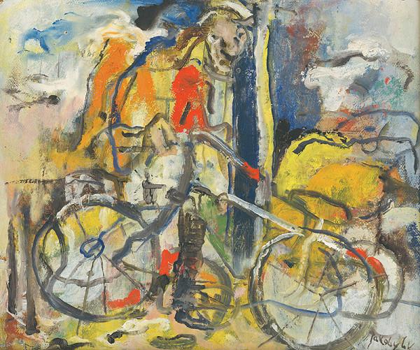 Július Jakoby - Bicyklista