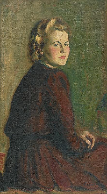Ladislav Čemický - Portrét ženy