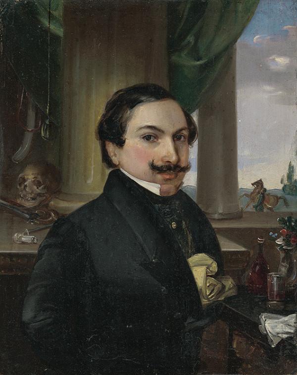 Johann Nepomuk Ender, Maďarský maliar - Portrét grófa Mihálya Esterházyho