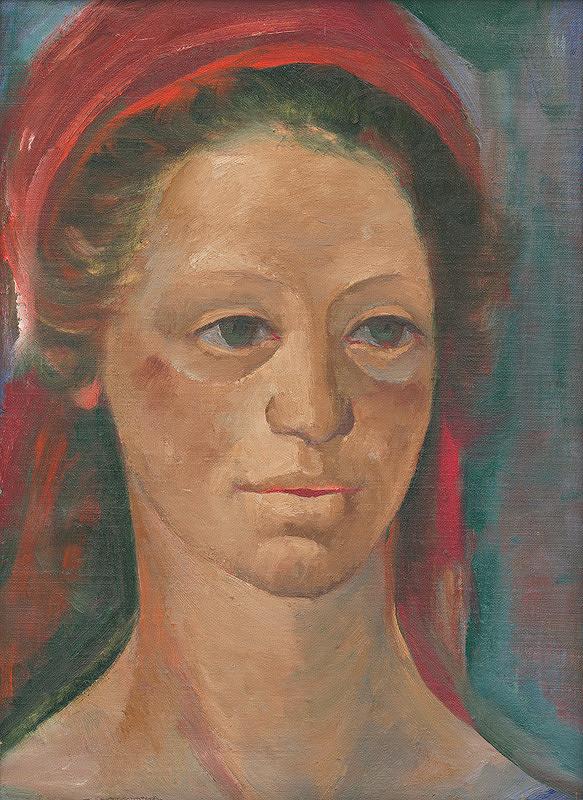 Ignác Kolčák - Portrét mladej ženy