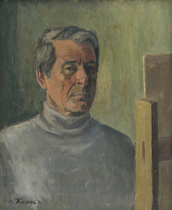 Martin Tvrdoň - Autoportrét