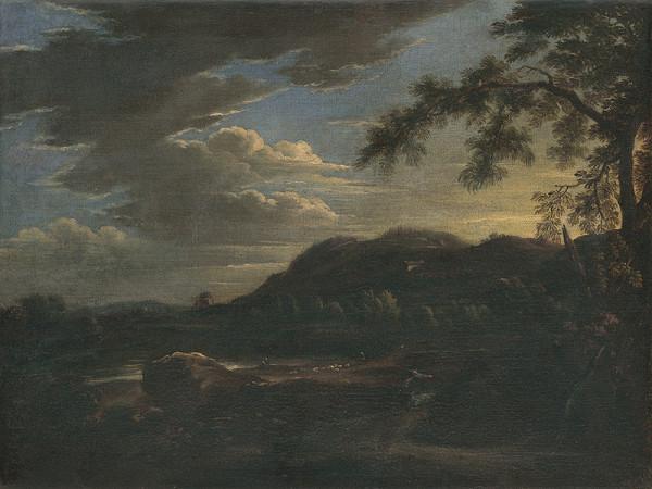 Nizozemský maliar - Krajina