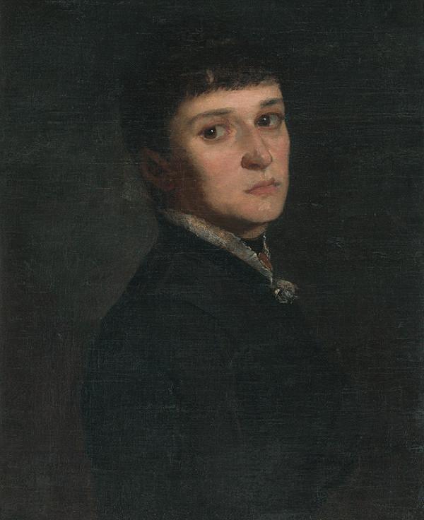 Eduard Hriňák - Portrét dámy